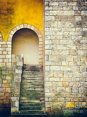 Print featuring the photograph Arched Entrance by Silvia Ganora