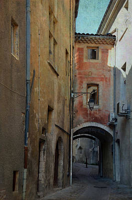 Photograph - Arched Passage In Viviers France by Carla Parris
