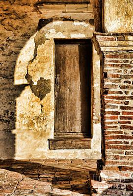 Photograph - Arched Shadow By Diana Sainz by Diana Raquel Sainz
