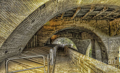 Arched Walkway Art Print