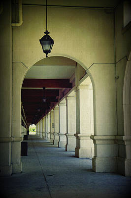 Photograph - Arched Walkway by Laurie Perry