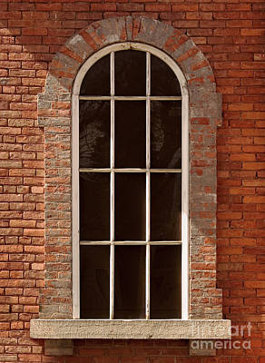 Photograph - Arched Window by Tom Brickhouse