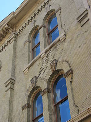Photograph - Arched Windows Close Up 2 by Anita Burgermeister