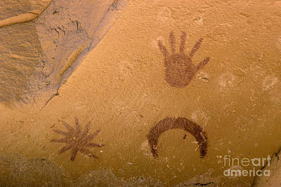 Photograph - Archeoastronomy Pictographs by Frank Zullo