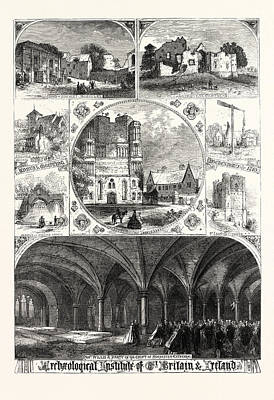 Archeological Institute Of Great Britain And Ireland Art Print