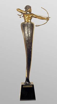 Sculpture - Archer by Hugh Blanding