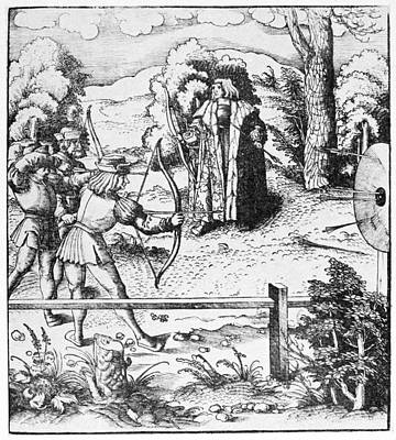 Archery, 16th Century Art Print by Granger