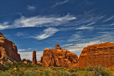 Photograph - Arches 21 by Tom Kelly