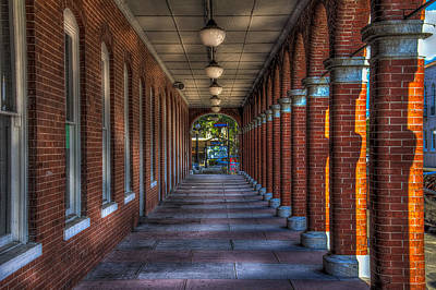 Corridor Photograph - Arches And Columns by Marvin Spates
