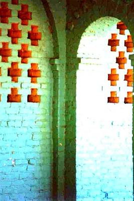 Photograph - Arches And Crosses New Orleans Louisiana Usa by Michael Hoard