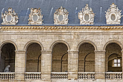 Photograph - Arches And Guards by Hany J