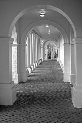 Photograph - Arches At The Rotunda At University Of Va 2 by Jerry Gammon