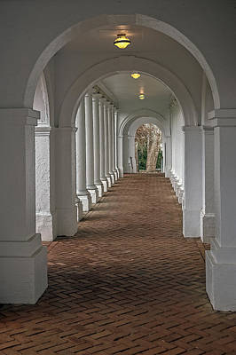 Arches At The Rotunda At University Of Va Art Print