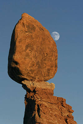 Photograph - Arches Balancing Rock by Wes and Dotty Weber