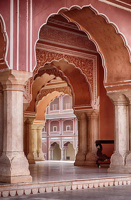 Photograph - Arches In The City Palace by Searagen