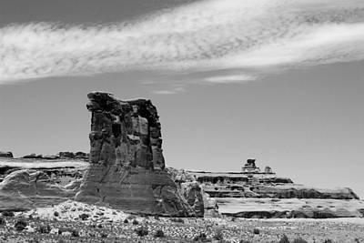 Photograph - Arches National Park 5 Bw by Mary Bedy