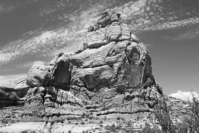 Photograph - Arches National Park 8 Bw by Mary Bedy