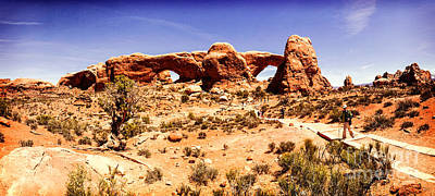 Photograph - Arches National Park by Colin and Linda McKie