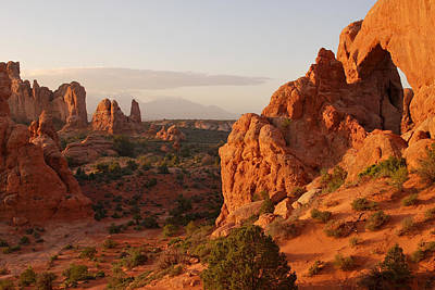 Photograph - Arches National Park Landscape by Gregory Ballos