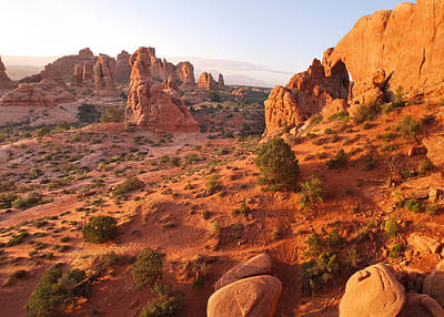 Photograph - Arches National Park Landscape - Moab Utah by Gregory Ballos