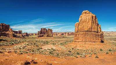Photograph - Arches National Park Scenery by Pierre Leclerc Photography