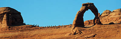 Photograph - Arches National Park Delicate Arch Pan 5 by Jeff Brunton