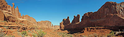 Photograph - Arches Np Park Ave Pan 2 by Jeff Brunton