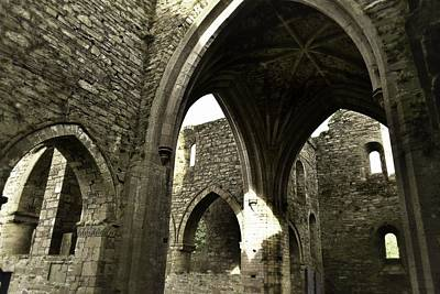 Photograph - Arches Of Ages - Jerpoint Abbey by Nadalyn Larsen