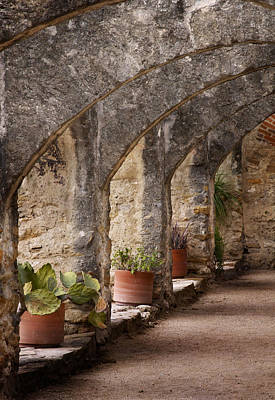 San Antonio Wall Art - Photograph - Arches Of San Jose by David and Carol Kelly