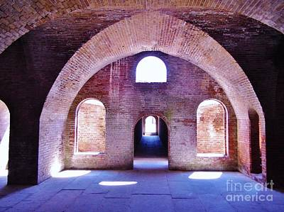 Historical Photograph - Arches Of Sunshine by D Hackett