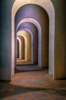 Photograph - Arches Of The Ferguson Center by Jerry Gammon