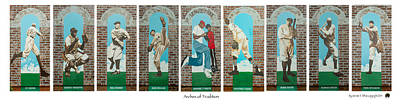 Sports Paintings - Arches of Tradition by Jerome White
