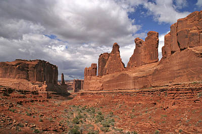 Photograph - Arches Park Avenue by Wes and Dotty Weber