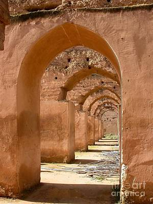 Moroccan Photograph - Arches by Sophie Vigneault