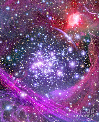 Arches Supermassive Star Cluster Art Print