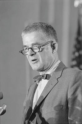 Press Conference Photograph - Archibald Cox (1912-2004) by Granger