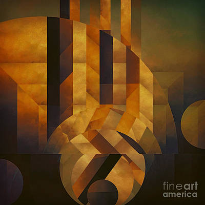 Architectonic Exclusion Art Print by Lonnie Christopher