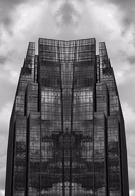 Architect's Dream Black And White Art Print by Dan Sproul