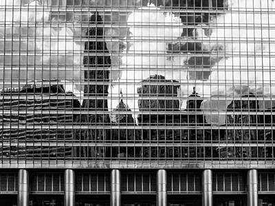 Architectural Abstract 3 Art Print by Robert  FERD Frank