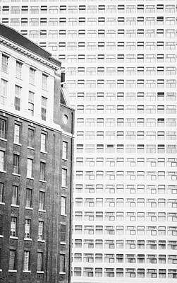 Architectural Background Art Print by Tom Gowanlock