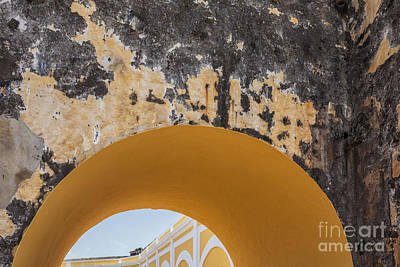 Photograph - Architectural Detail At Castillo San Felipe Del Morro by Bryan Mullennix