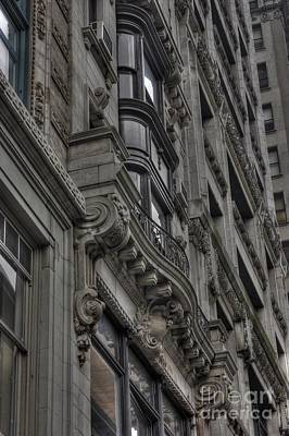 Architectural Detail Print by David Bearden