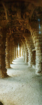 Featured Images Photograph - Architectural Detail Of The Famous Park by Panoramic Images