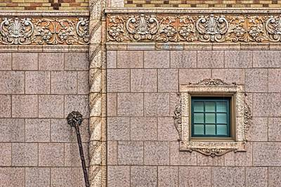 Photograph - Architectural Detail - Rose Theater - Minimalist by Nikolyn McDonald