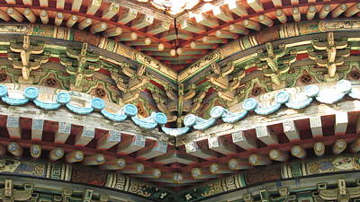 Photograph - Architectural Details by Alfred Ng