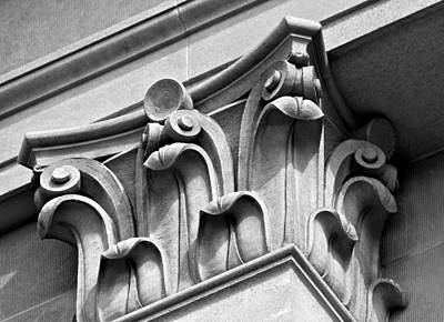 Photograph - Architectural Elements by Karon Melillo DeVega