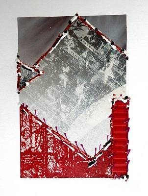 Mixed Media - Architectural by L Cecka