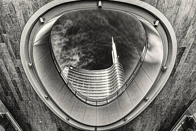 Photograph - Architectural Point Of View by Roberto Pagani
