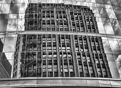 Architectural Reflection 2 Art Print