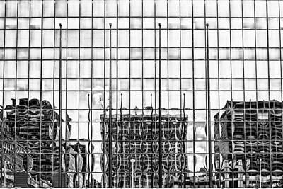 Architectural Reflection Art Print by Robert  FERD Frank